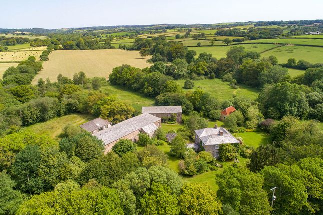 Thumbnail Detached house for sale in St. Giles-On-The-Heath, Launceston, Cornwall