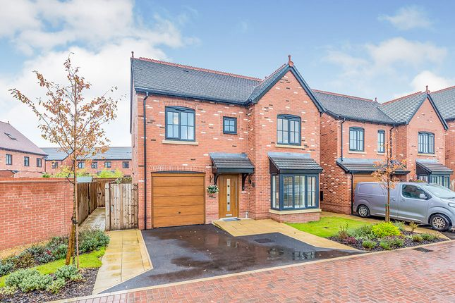 Thumbnail Detached house for sale in Holly Close, Holmes Chapel, Crewe, Cheshire