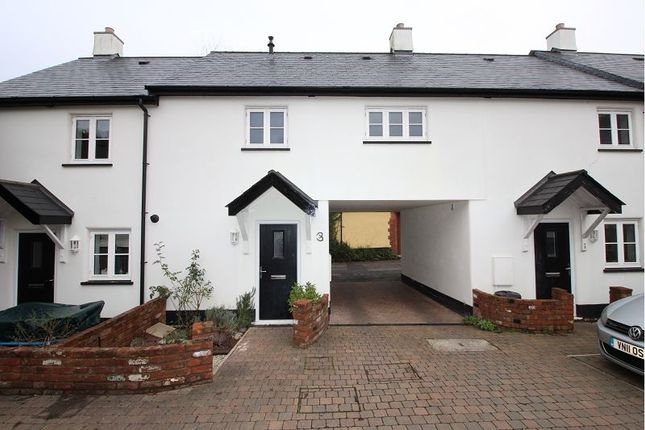 Thumbnail Terraced house to rent in Tiverton Road, Silverton, Exeter