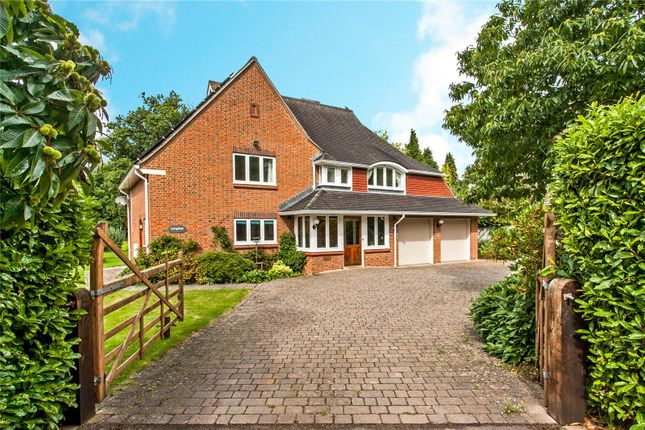 Thumbnail Detached house for sale in Fairfield Road, Shawford, Winchester, Hampshire