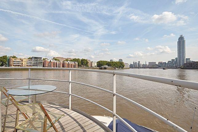 Thumbnail Houseboat to rent in Tideway Walk, Kirtling Street, London
