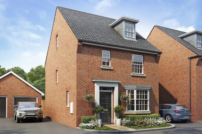"Thumbnail Detached house for sale in ""Bayswater"" at Birmingham Road, Bromsgrove"