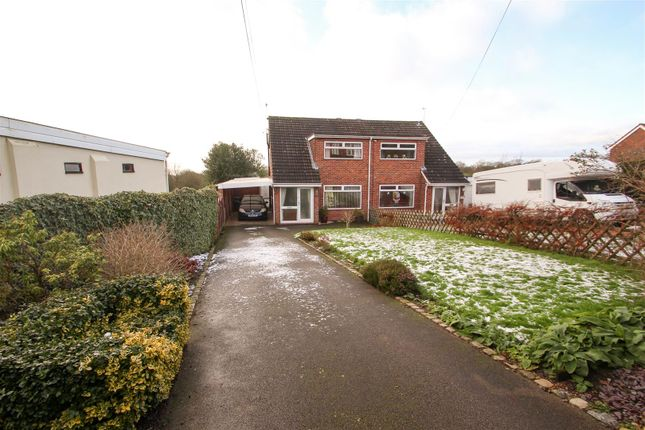 Thumbnail Semi-detached house for sale in Washerwall Lane, Werrington, Stoke-On-Trent