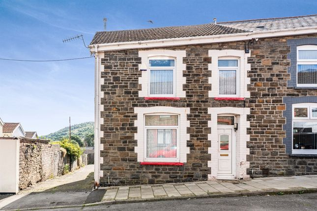 Thumbnail End terrace house for sale in Graigwen Road, Porth