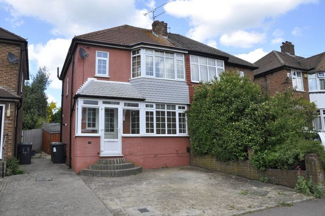 Thumbnail Semi-detached house to rent in Deepdene, Potters Bar
