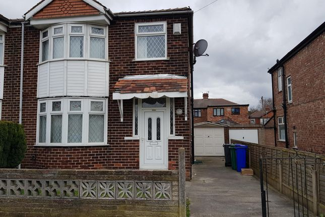Thumbnail Semi-detached house to rent in Hemmons Road, Manchester, Greater Manchester