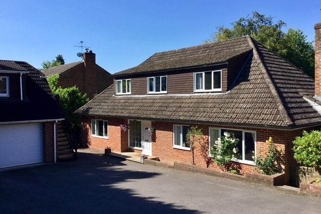 Thumbnail Detached house to rent in Linden Road, Headley Down, Bordon