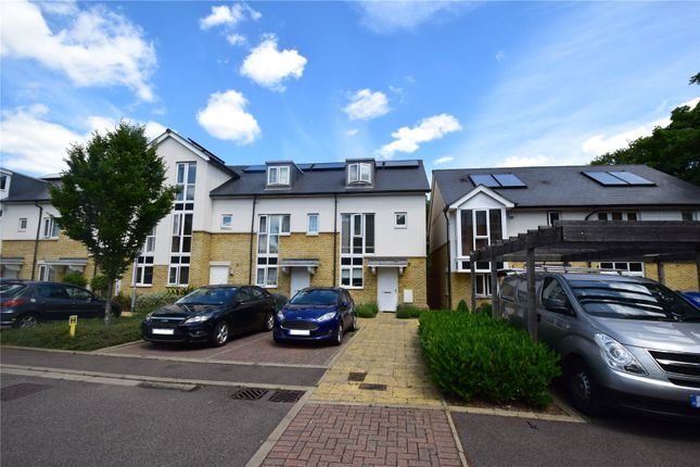 Thumbnail End terrace house for sale in Squirrels Close, Swanley, Kent
