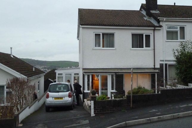 Thumbnail Semi-detached house to rent in Heol Blaengwastod, Llangunnor, Carmarthen