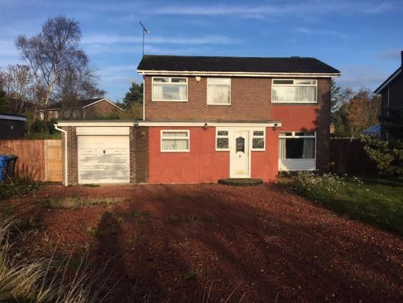 Thumbnail Detached house for sale in Callerton Court, Ponteland, Northumberland, Tyne & Wear