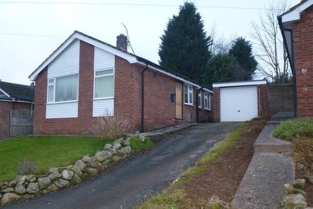 Thumbnail Bungalow to rent in Oathills Drive, Tarporley