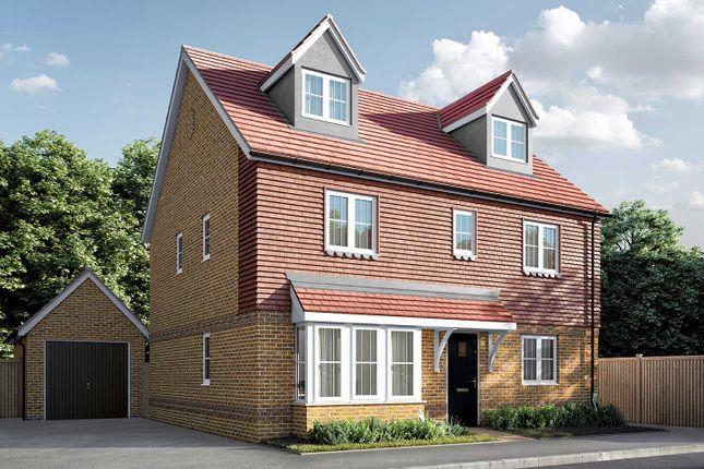 "Thumbnail Detached house for sale in ""The Fletcher"" at Berengrave Lane, Rainham, Gillingham"