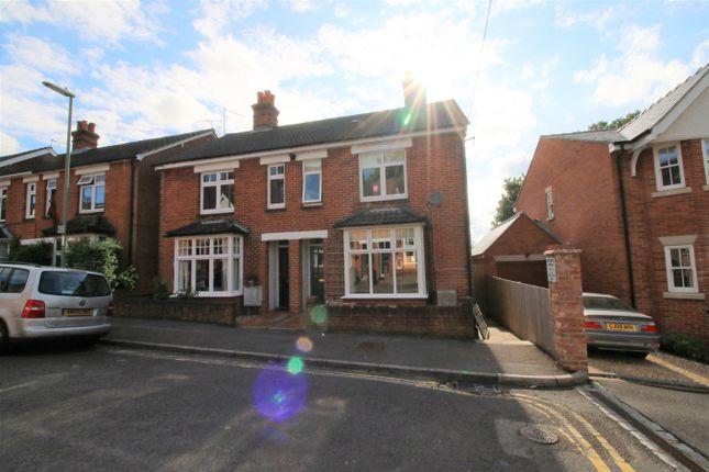 Thumbnail Semi-detached house for sale in Frances Road, Fairfields, Basingstoke