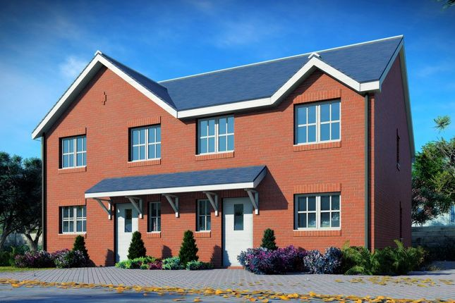 Thumbnail Semi-detached house for sale in Saracen Way, Stoke-On-Trent