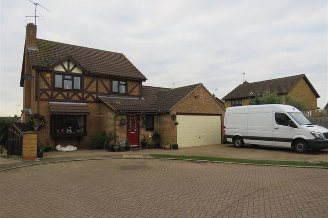 Thumbnail Detached house for sale in Burystead Rise, Raunds, Wellingborough