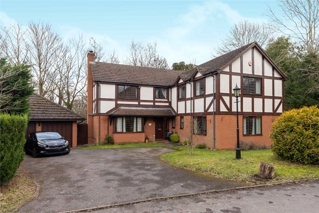 Thumbnail Detached house for sale in Campbell Close, Yateley, Hampshire