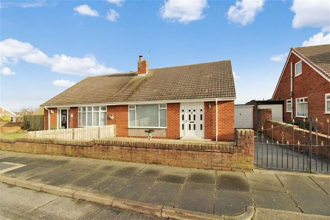 Thumbnail Semi-detached bungalow for sale in Easedale, Seaton Sluice, Whitley Bay