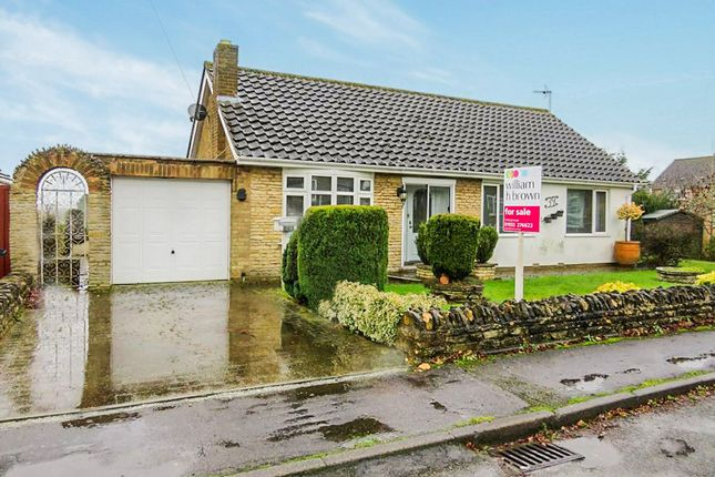Thumbnail Detached bungalow for sale in Windmill Close, Wollaston, Wellingborough