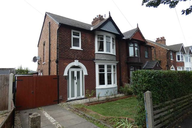 Thumbnail Semi-detached house for sale in Avenue Vivian, Scunthorpe