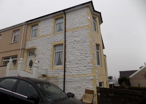 Thumbnail Semi-detached house to rent in Ty Bryn Road, Abertillery