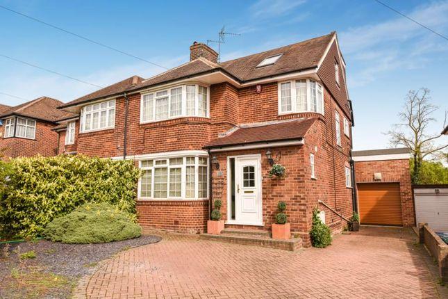 Thumbnail Semi-detached house for sale in Edgwarebury Lane, Edgware