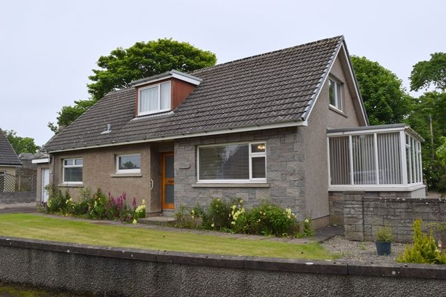 Thumbnail Detached house for sale in Gillburn, 23 Newton Avenue, Wick