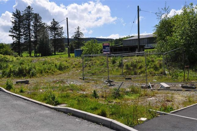 Thumbnail Land for sale in Crosswood, Aberystwyth