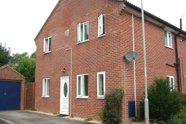 Thumbnail Semi-detached house to rent in St Lukes Court, Bridport, Dorset