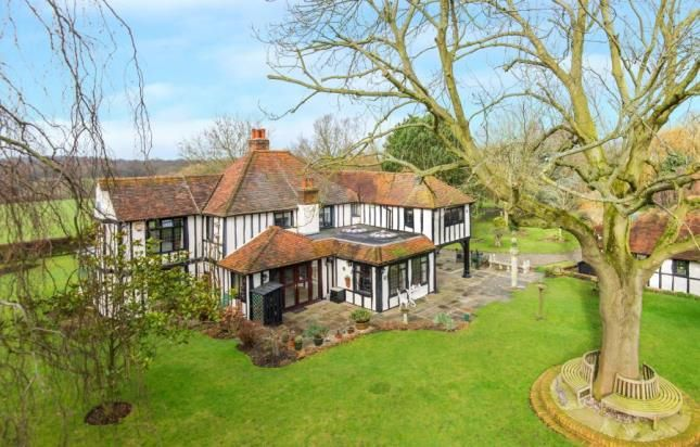 Thumbnail Detached house for sale in Coxtie Green Road, South Weald, Brentwood, Essex