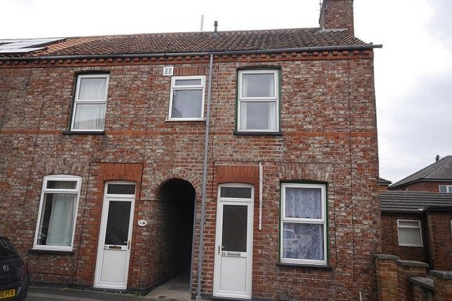 Thumbnail End terrace house to rent in Hawthorn Street, Layerthorpe, York
