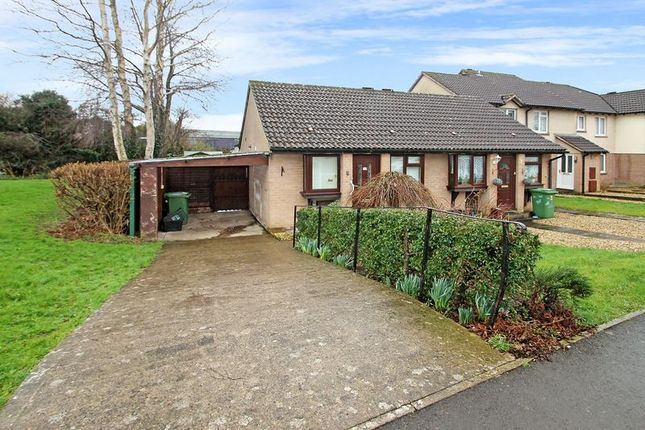 Thumbnail Semi-detached bungalow for sale in Sheldon Drive, Wells