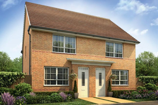 "Thumbnail Semi-detached house for sale in ""Kendal"" at Weddington Road, Nuneaton"