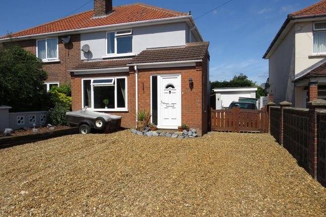 Thumbnail Semi-detached house for sale in Cromwell Road, Sprowston, Norwich
