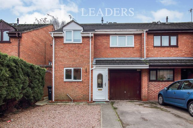 Thumbnail Semi-detached house to rent in Nuffield Close, St. Johns, Worcester