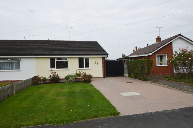 Thumbnail Semi-detached bungalow to rent in St. James Avenue, Upton, Chester
