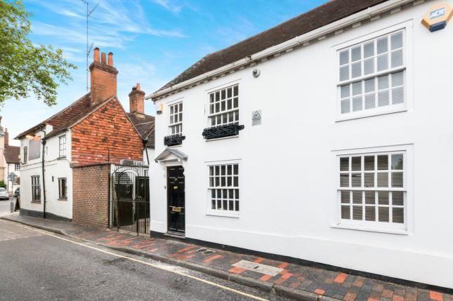 Thumbnail Terraced house for sale in Park Row, Farnham