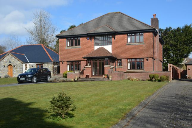 Thumbnail Detached house for sale in Summerland House, 80 Cawell Road, Caswell, Swansea