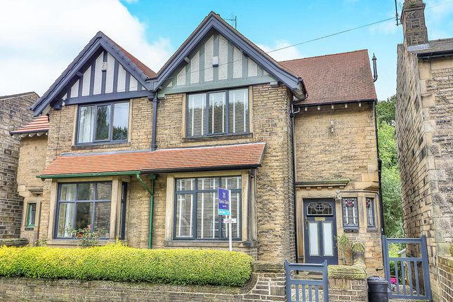 Thumbnail Semi-detached house for sale in The Woodlands, Palace House Road, Hebden Bridge