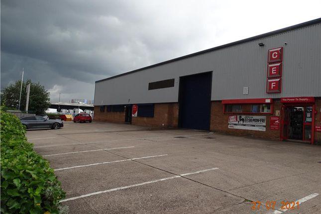 Thumbnail Light industrial to let in Unit F, Dartmouth Industrial Estate, Bracebridge Street, Birmingham, West Midlands