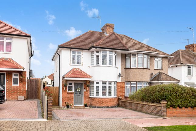 Thumbnail Semi-detached house for sale in Normanhurst Road, St. Pauls Cray, Orpington