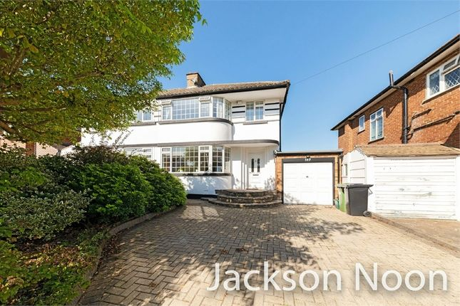 Thumbnail Semi-detached house for sale in Stoneleigh Park Road, Stoneleigh, Epsom
