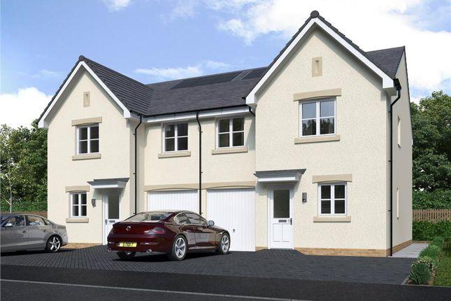 "4 bed semi-detached house for sale in ""Larchwood Semi"" at Irvine Road, Kilmaurs, Kilmarnock KA3"