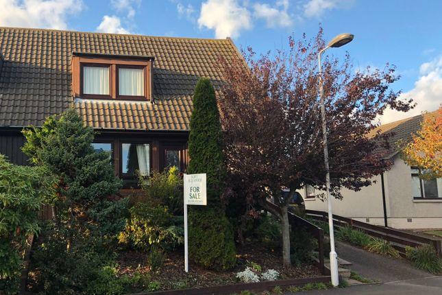 Thumbnail Semi-detached house for sale in Invergarry Park, St Cyrus, Montrose
