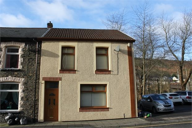 Thumbnail End terrace house for sale in Margaret Street, Ferndale, Pontygwaith, Rhondda Cynon Taff.