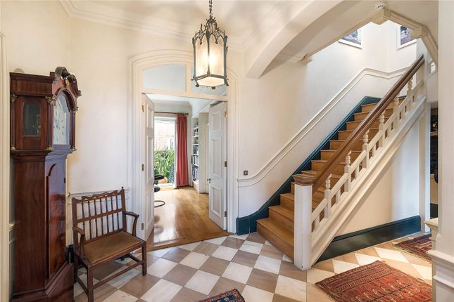 Wide Stairecase of Tite Street, London SW3