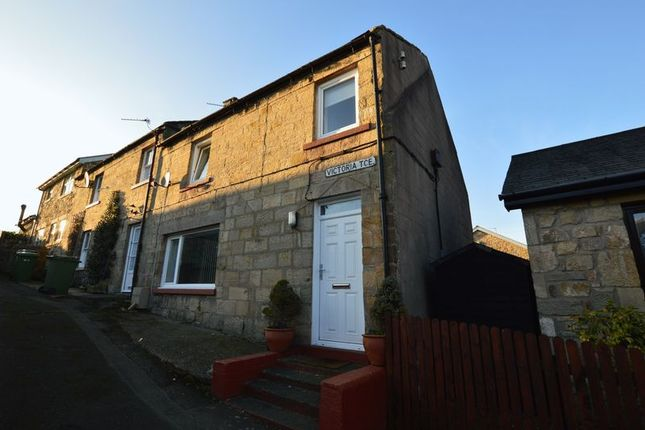 Thumbnail End terrace house to rent in Victoria Terrace, Felton, Morpeth