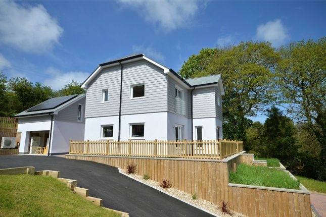 Thumbnail Detached house for sale in Tresillian, Truro, Cornwall