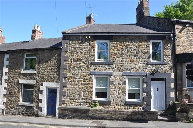 Thumbnail Terraced house for sale in West End Terrace, Hexham, Northumberland.
