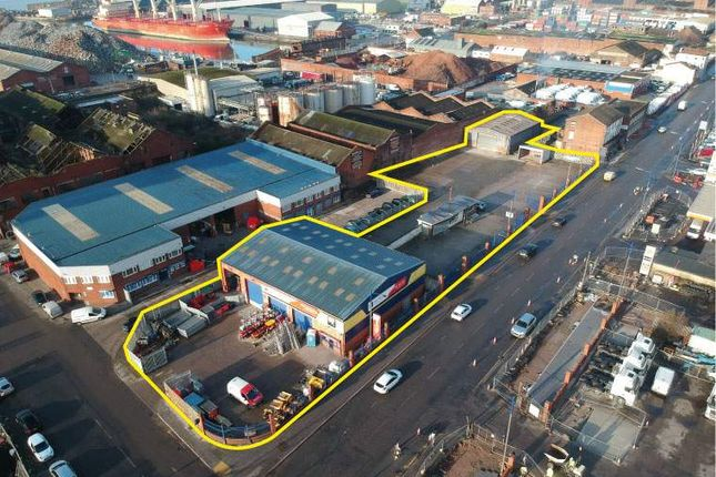 Thumbnail Industrial for sale in Brunswick Place, Liverpool
