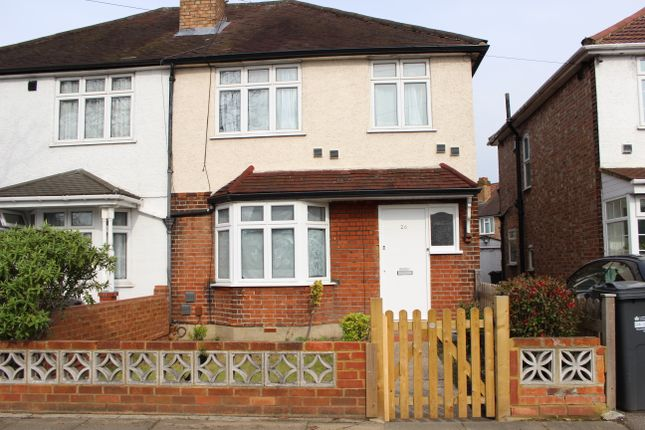 Thumbnail Semi-detached house to rent in Harlington Road West, Feltham